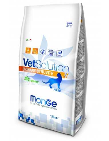 MONGE VET CAT-URINARY STRUVITE 1,5KG