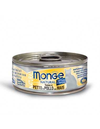 MONGE NATURAL TUNA WITH CHICKEN AND...