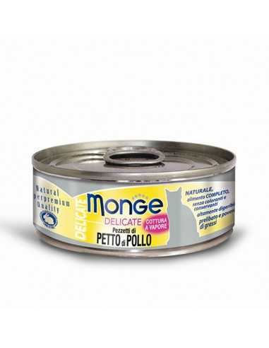 MONGE DELICATE CHICKEN BREAST 80G