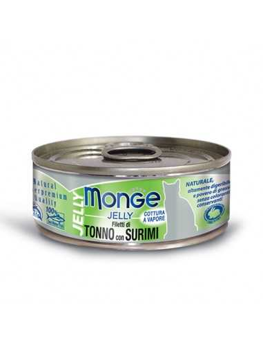 MONGE JELLY YELLOW TUNA IN JELLY WITH...