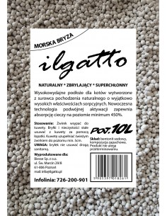 Ilgatto litter 10l - sea breeze