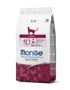 MONGE INDOOR CHICKEN 400G