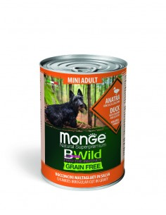 MONGE BWILD GRAIN FREE MINI...