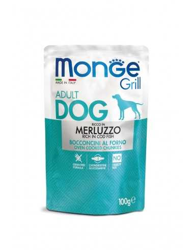 MONGE GRILL-MEAT PIECES WITH COD