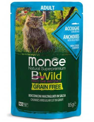 MONGE BWILD Grain Free Anchovies with...