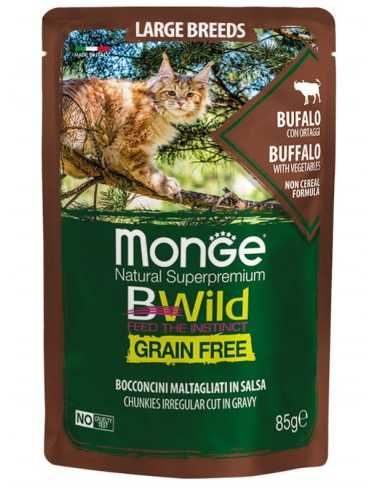 MONGE BWILD Grain Free Buffalo with...