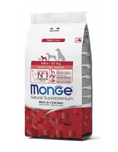 MONGE MINI PUPPY & JUNIOR 3KG