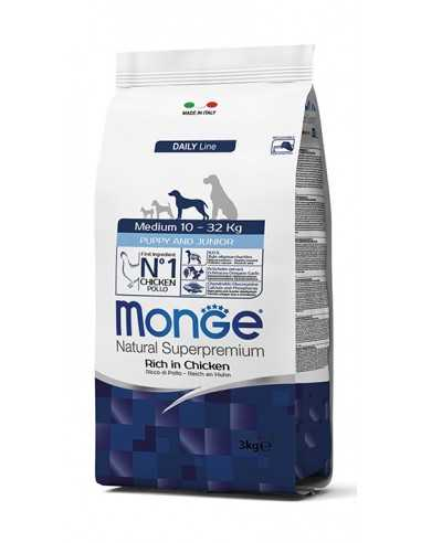 MONGE MEDIUM PUPPY & JUNIOR 3KG