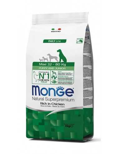 MONGE MAXI PUPPY & JUNIOR 3KG