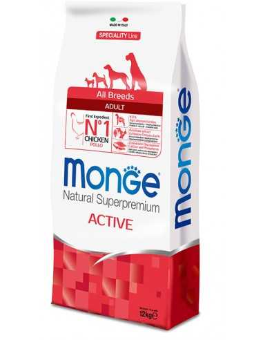 MONGE ADULT ACTIVE WITH CHICKEN 12kg